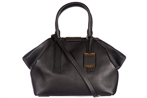 Michael Kors women's leather handbag shopping bag purse lexi black