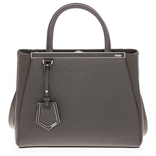 Fendi Women's Petite 2Jours Tote Bag Grey