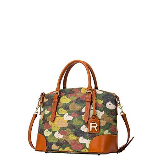 Dooney & Bourke Camouflage Duck Domed Satchel