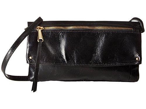 Hobo Handbags Vintage Leather Rudy Crossbody – Black