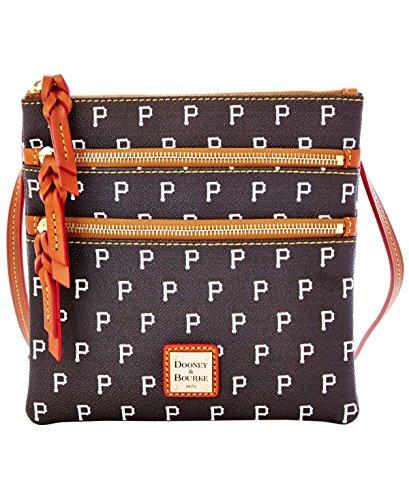 Dooney & Bourke Pittsburgh Pirates Triple-Zip Crossbody Bag