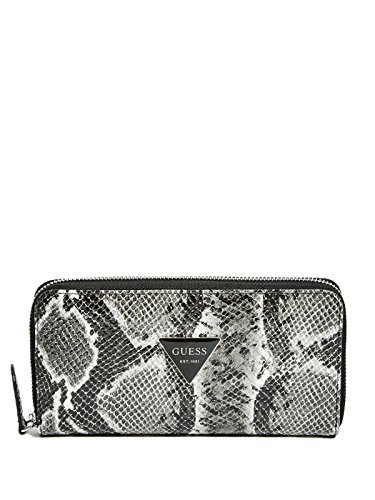 GUESS Women's Abree Python-Embossed Slim Wallet