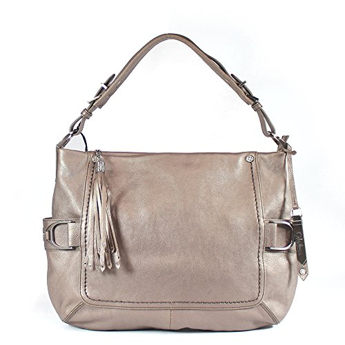 Cole Haan Saddle East-West Hobo Bag (Ginger Pearlized)