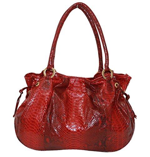 Betty Audish Genuine Python, Woman's Tote, Satchel, Clutch, Handbag, Purse, Bag