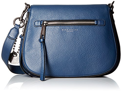 Marc Jacobs Recruit Saddle Crossbody Bag, Dark Blue