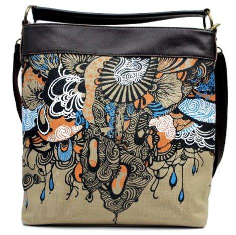 ilishop Women's New Fashion Unique And Creative Handbag Shoulder Bag (Black)