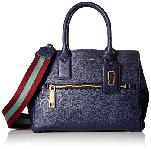 Marc Jacobs Gotham Tote, Midnight Blue/Vino/Multi
