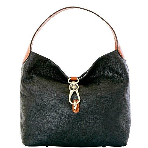 Dooney & Bourke Logo Lock Shoulder Bag Leather 3 pc set