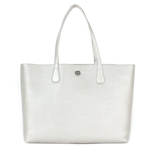 Tory Burch Perry Tote Soft Silver/Iceperg