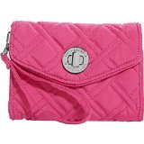 Vera Bradley Your Turn Smartphone Wristlet- Solids (Fuchsia)