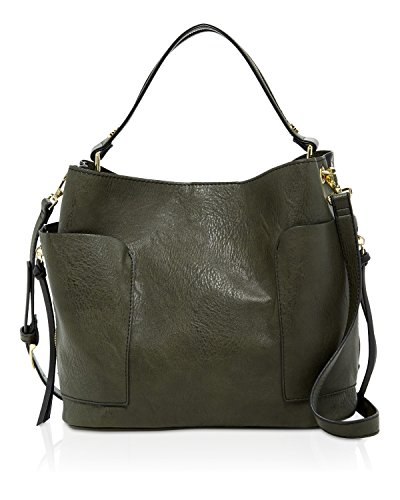 Steve Madden Bfoal Two Tone Hobo Shoulder Bag
