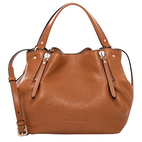 Burberry Women's Small Brit & Canvas Maidstone Tote Brown