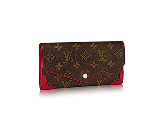 LV Monogram Canvas Sarah Wallet Retiro Article:M61184