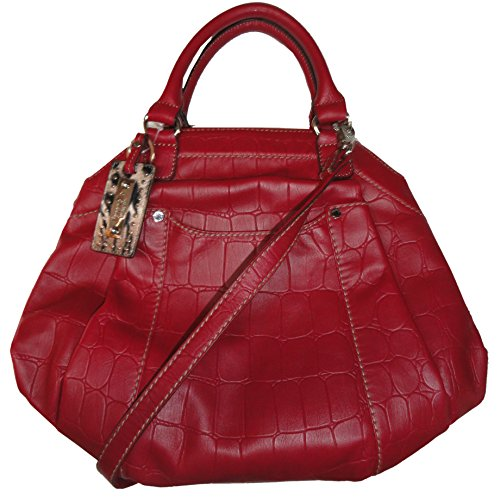 Tignanello Women's Simply Safari Satchel Glam Red