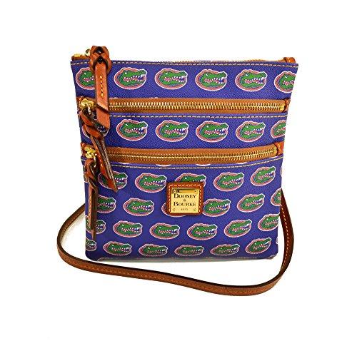 Florida Gators Triple Zip Crossbody Bag