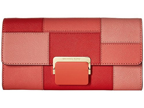 MICHAEL Michael Kors Cynthia Lg Clutch Pnkgrapfruit Clutch Handbags
