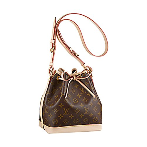 Authentic Louis Vuitton Monogram Canvas Noé BB Shoulder Bag Strap Handbag Article: M40817 Made in France