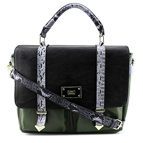 Steve Madden DO258345 Women Green Satchel NWT