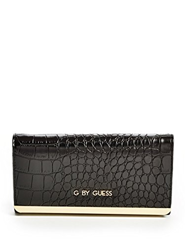G by GUESS Women's Nisha Croc-Embossed Multi Wallet