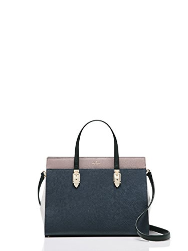 Kate Spade New York Horton Lane Candace Satchel, diver blue/light shale/porcini
