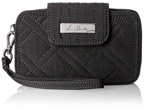 Vera Bradley Smartphone Wristlet 2.0 Wallet, Classic Black