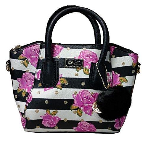 Betsey Johnson Crossbody Handbag Rose
