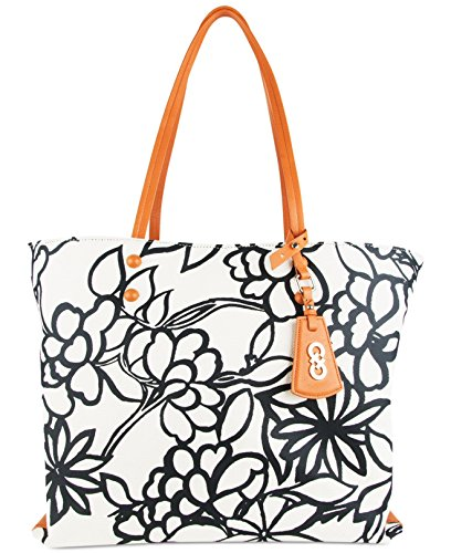 Cole Haan Hannah Canvas Floral Tote Bag