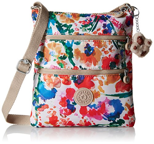 Kipling Keiko Prt Crossbody, Floral Night Natural
