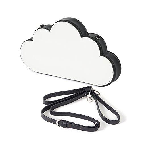 Women's Girl's Cloud Shape Clutch Handbags,Shoulder Bags,Crossbody Satchel Purse