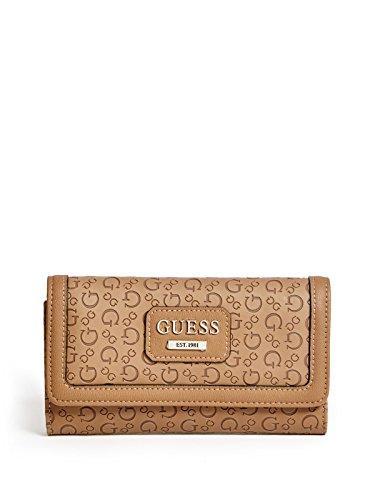 GUESS Women's Bridgewater Logo Slim Wallet