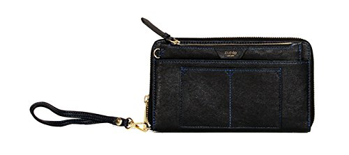 Tutilo Womens Handbag Accessories Feature Zip-Around RFID Protection Clutch Wristlet with Removable Pouch