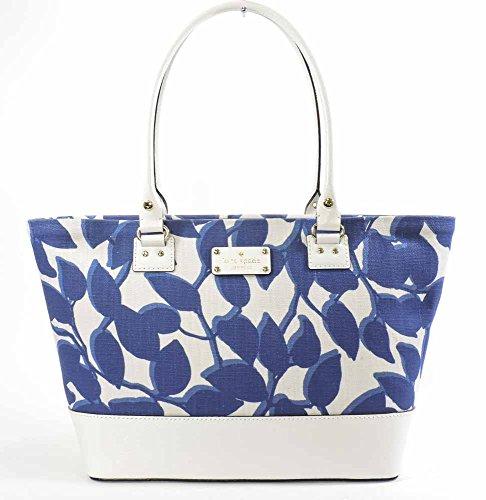 Kate Spade Wellesley Leaves Fabric Small Harmony Handbag
