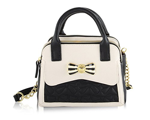 Betsey Johnson MIni Dome Satchel Crossbody Bag