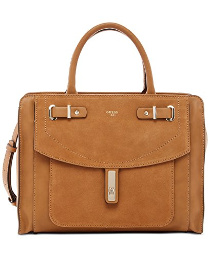 GUESS Kingsley Color-Blocked Satchel