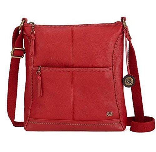 The Sak Cross Body Bag (Iris – Cherry)