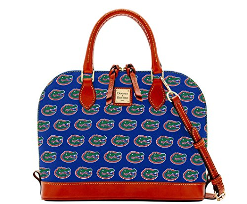 Dooney and Bourke Florida Gators Zip Zip Satchel Handbag
