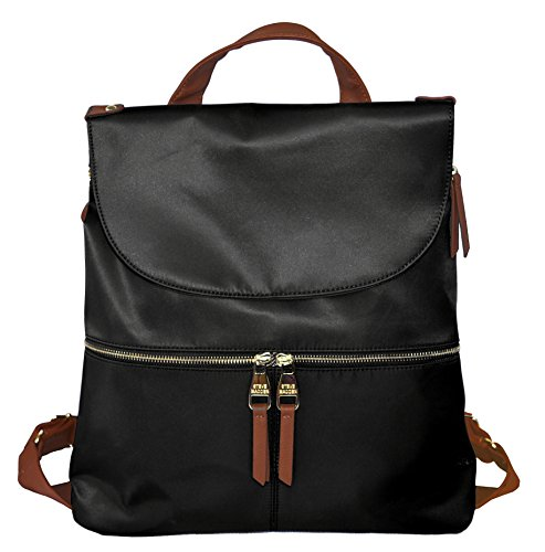Steve Madden Spencer Large Backpack Bag Handbag Back Pack Black