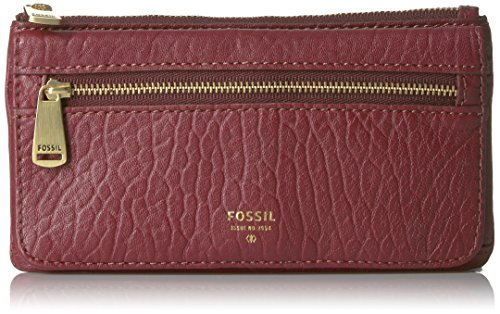 Fossil Preston Flap Wallet, Wine