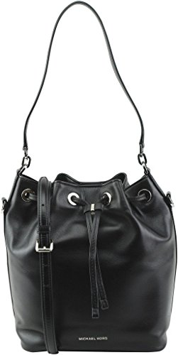 Michael Michael Kors Dottie Large Leather Bucket Bag