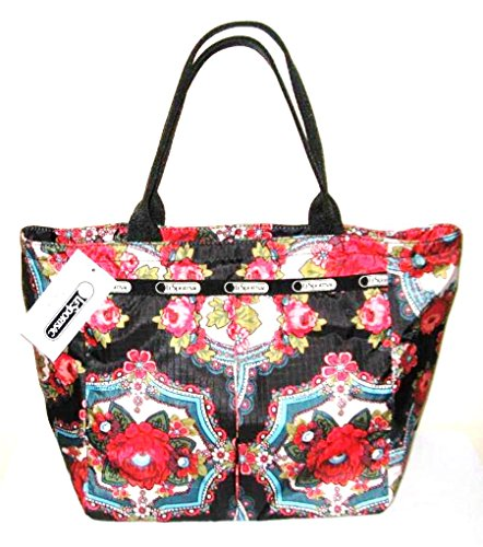 LeSportSac Romanian Rose Small Every Girl Tote with Pouch Flowers