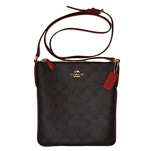 Coach Purse Signature NS Messenger Xbody Bag F35940 IML72 Signature C