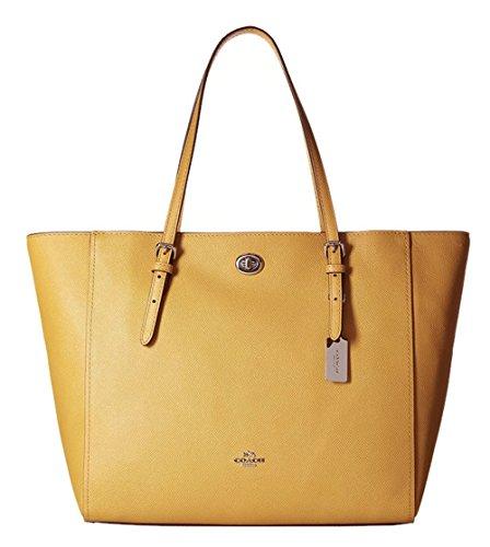 Coach Crossgrain Turnlock Women's Tote Bag 37142