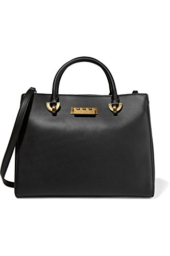 ZAC Zac Posen Eartha Barrel leather tote top handle shoulder bag handbag purse