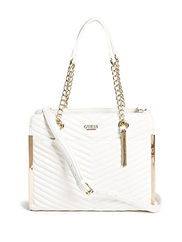 GUESS Women's Mila Quilted Satchel