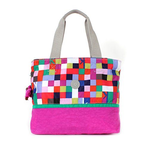 Kipling Loves Hawall Tote Shoulder Bag KSQRDPINK
