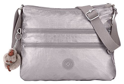 Kipling Alvar GM, Gleaming Gold Metallic, One Size
