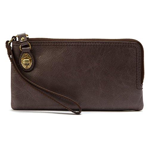 Hobo Women's Leather Mila Wristlet Clutch