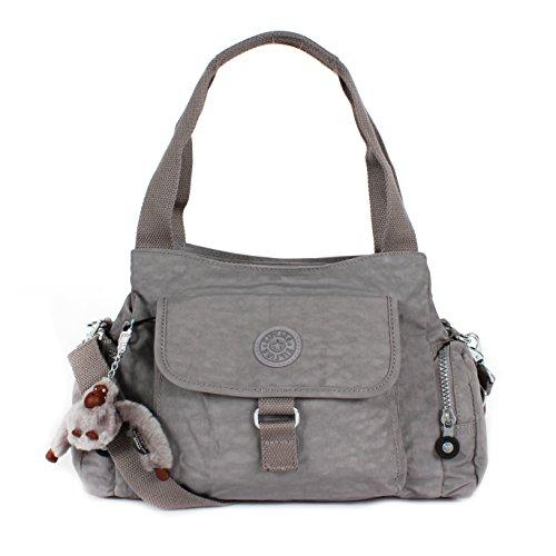 Kipling Felix (Fairfax) L Shoulder Bag Crossbody Cool Grey