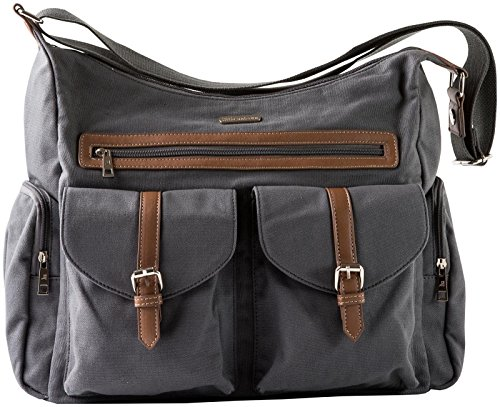 Little Unicorn Rambler Satchel – Grey