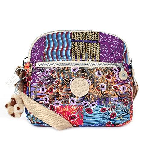 Kipling Keefe Crossbody Bag, Patchwork, One Size
